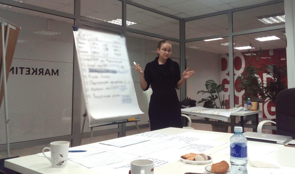 презентация решений на стратегической сессии